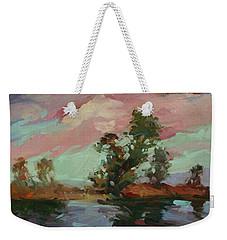 End Of The Cottonwoods Weekender Tote Bag