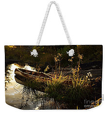 End Of The Day At Gabbro Lake Weekender Tote Bag