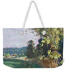 End Of The Day In The Farm  Weekender Tote Bag