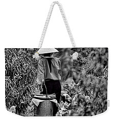 End Of The Day Vietnamese Woman  Weekender Tote Bag