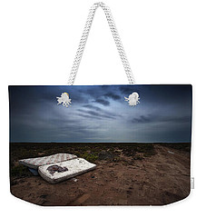 Weekender Tote Bag featuring the photograph End Of The Earth by Tim Nichols