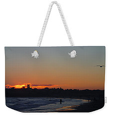 End Of The Island Day. Weekender Tote Bag