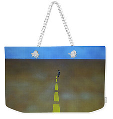 End Of The Line Weekender Tote Bag by Thomas Blood