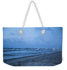 Weekender Tote Bag featuring the photograph End Of The Season Padre 3 by Mez