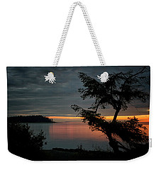 End Of The Trail Weekender Tote Bag by Randy Hall