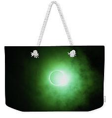 End Of Totality Weekender Tote Bag