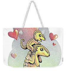 Endangered Animal Pangolin Weekender Tote Bag