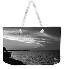 Ending The Day On Mobile Bay Weekender Tote Bag