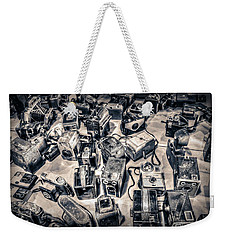 Weekender Tote Bag featuring the photograph Endless by Michaela Preston