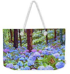 Endless Summer Blue Hydrangeas Weekender Tote Bag
