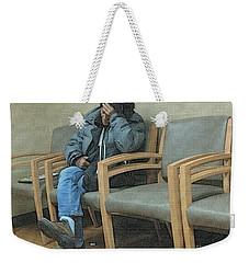 Endlessly Waiting Weekender Tote Bag