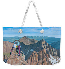 Ends Of The Earth Weekender Tote Bag