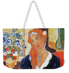 Endurance Weekender Tote Bag by Becky Kim
