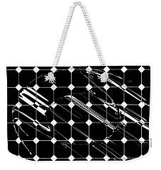 Energy Grid Weekender Tote Bag