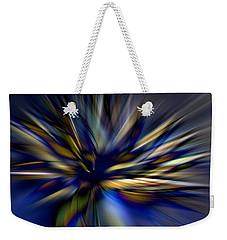 Energy In Flight Weekender Tote Bag by Lauren Radke