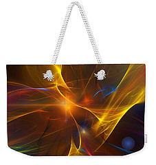 Energy Matrix Weekender Tote Bag