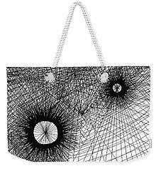 Energy Weekender Tote Bag by Quwatha Valentine