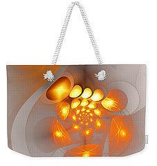 Weekender Tote Bag featuring the digital art Energy Source by Anastasiya Malakhova