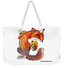 Weekender Tote Bag featuring the digital art Enfield by Stanley Morrison