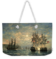 Engagement Between The 'bonhomme Richard' And The ' Serapis' Off Flamborough Head Weekender Tote Bag