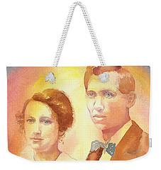Engagement Day Weekender Tote Bag