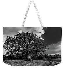 Engellman Oak Palomar Black And White Weekender Tote Bag