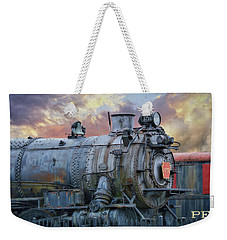 Weekender Tote Bag featuring the photograph Engine 3750 by Lori Deiter