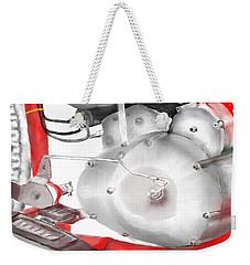 Engine Detail Weekender Tote Bag