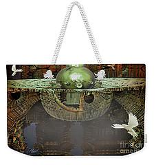 Engine Room Fractal Weekender Tote Bag by Melissa Messick