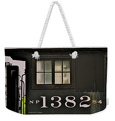 Weekender Tote Bag featuring the photograph Engineer's Window by Kae Cheatham