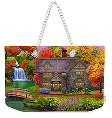 England Country Autumn Weekender Tote Bag