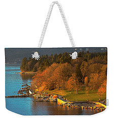 English Bay At Golden Hr. Weekender Tote Bag