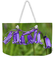 English Bluebells 1 Weekender Tote Bag by Shirley Mitchell