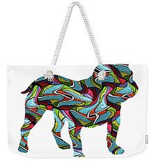 English Bulldog Spirit Glass Weekender Tote Bag
