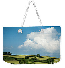 Weekender Tote Bag featuring the photograph English Countryside In Summer by Jan Bickerton
