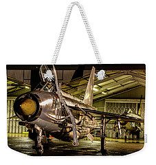 English Electric Lightning Qra Shed Weekender Tote Bag