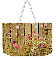 English Garden Weekender Tote Bag by Susan Maxwell Schmidt