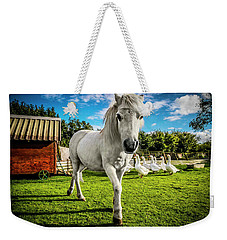 English Gypsy Horse Weekender Tote Bag