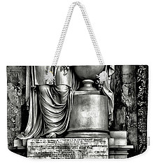 English Relief Sculpture Weekender Tote Bag