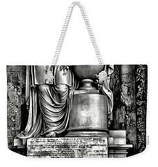 English Relief Sculpture Weekender Tote Bag by Walt Foegelle