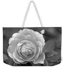 English Rose In Black And White Weekender Tote Bag