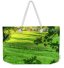 English Summer Contentment  Weekender Tote Bag