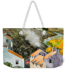 English Village Weekender Tote Bag