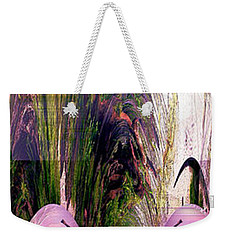 Weekender Tote Bag featuring the photograph Enigma No 2 by Robert G Kernodle