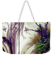 Weekender Tote Bag featuring the photograph Enigma No 3 by Robert G Kernodle