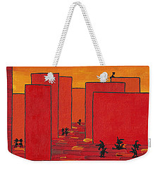 Enjoy Dancing In Red Town P2 Weekender Tote Bag