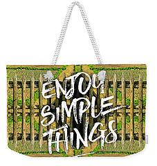 Enjoy Simple Things Marie Antoinette Hamlet Versailles Weekender Tote Bag