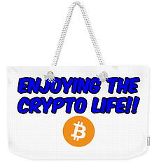 Enjoy The Crypto Life #4 Weekender Tote Bag