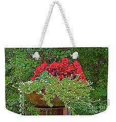 Enjoy The Garden Weekender Tote Bag