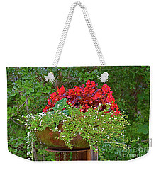 Enjoy The Garden Weekender Tote Bag